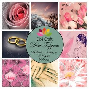 Bilde av Dixi Craft - Dixi toppers - ETL003 -  Wedding