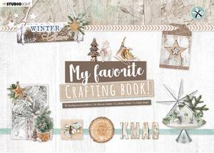 Bilde av Studiolight - My favorite Crafting Book - A4 - Winter Charm