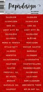 Bilde av Papirdesign - Klistremerker - 2100735 - Juleeventyr