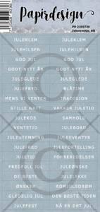Bilde av Papirdesign - Klistremerker - 2100736 - Juleeventyr, blå