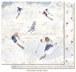 Bilde av Maja Design - 1043 - Holiday in the Alps - Slalom