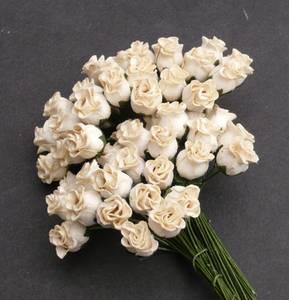 Bilde av Flowers - Hip Rosebuds - SAA-092 - Deep Ivory - 50stk
