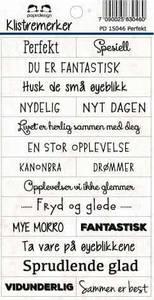 Bilde av Papirdesign - Klistremerker - 15046 - Perfekt