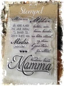 Bilde av Papirdesign - Stempel - PD14962 - Mamma