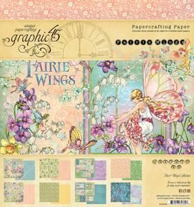 Bilde av Graphic 45 - 4502082 - 8x8 Paper pad - Fairie Wings