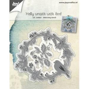 Bilde av Joy Crafts - 6002-1062 - Die - Wreath with finch