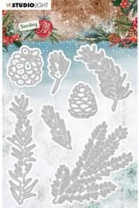 Bilde av Studiolight die - CD47 - Sending Joy - Branches/pine cones