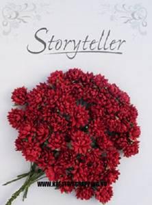 Bilde av Storyteller - Krysanthemum - Rød - 17mm - 2040