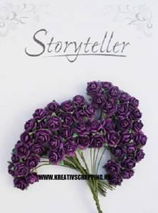 Bilde av Storyteller - Rose - Lilla - 10mm - 2163