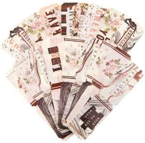 Bilde av Prima - 634377 - Die-Cut Paper Tickets - Lavender Frost
