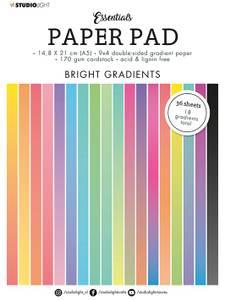 Bilde av Studiolight -   18 - PaperPad A5 - PP18 Gradient Bright