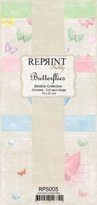 Bilde av Reprint - Slimline Paper Pack - RPS005 - Butterflies
