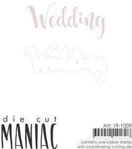 Bilde av Reprint - DieCut Maniac - 19-1009 - Stamp & Die - Wedding