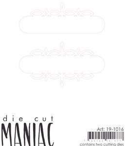 Bilde av Reprint - DieCut Maniac - 19-1016 - Die - Journaling ramme 2