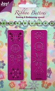 Bilde av Joy Crafts - 6002-0131 - Die - Ribbon Buttons - Sommerfugl