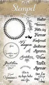 Bilde av Papirdesign - Stempel - PD14960 - Til henne