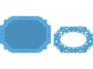 Bilde av Marianne Design - Creatables - LR0309 - OVAL LABLE STENCIL