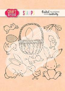 Bilde av Craft & You - Clearstamps - CS013 - Easter set 2