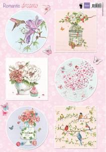 Bilde av Marianne Design - Klippeark EWK1264 - Romantic Dreams - Pink