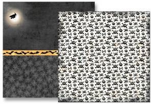 Bilde av Papirdesign PD15087 - Knask eller knep - Skrekk og gru