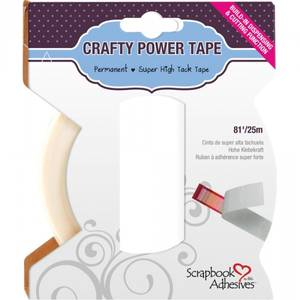 Bilde av Scrapbook Adhesives - Crafty Power Tape - Permanent - 6mm x 25me