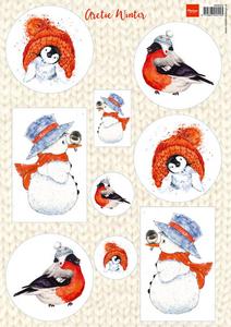 Bilde av Marianne Design - Klippeark VK9550 - Artic Winter