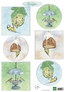Bilde av Marianne Design - Klippeark IT604 - Tiny's Birds feeding