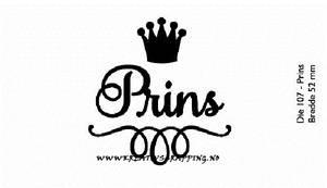 Bilde av Kort & Godt - Die 107 - Prins