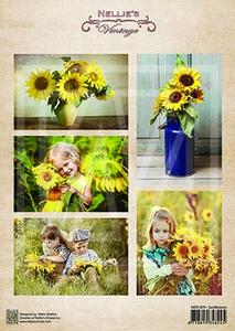 Bilde av Nellie Snellen - Klippeark NEVI079 - Sunflowers