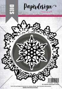 Bilde av Papirdesign Dies PD2100553 - Snøkrystall ramme