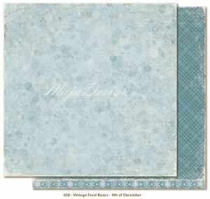 Bilde av Maja Design - VINTAGE FROST BASIC 658 - 9TH OF DESEMBER