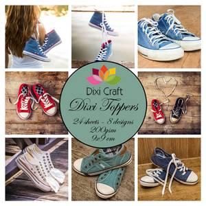 Bilde av Dixi Craft - Dixi toppers - ET0285 - Sneakers