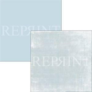 Bilde av Reprint - 12x12 - RP0312 - Swedish Fika - Blue Checkered