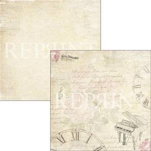 Bilde av Reprint - 12x12 - RP0317 - Music & Roses - Time to Play