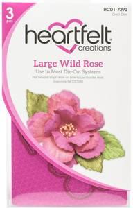 Bilde av Heartfelt Creations - Wild Rose Large - Cut & Emboss Dies