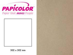 Bilde av Papicolor - Kartong - 12x12 - 322 - Recycled Kraft - Grey (Natur