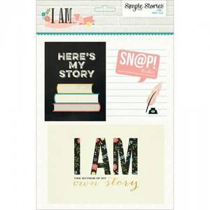 Bilde av Simple Stories - 4523 - I AM - CARDS