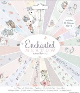 Bilde av Papermania - 6x6 Paper Pad - Enchanted Meadow