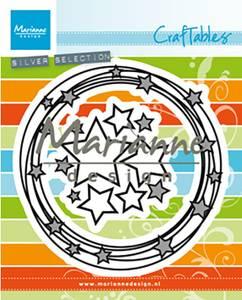 Bilde av Marianne Design - Craftables dies - CR1447 - Circle & stars