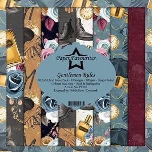 Bilde av Paper Favourites - 12x12 Paper Pack - PF358 - Gentlemen Rules