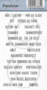 Bilde av Papirdesign - Klistremerker - 18382 - Årstidene