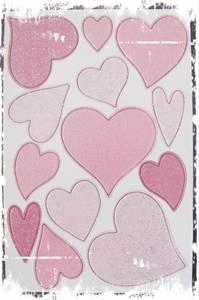 Bilde av Papirdesign - Chipboards - 635 - Hjerter rosa
