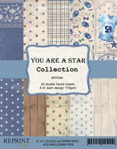 Bilde av Reprint - 6x6 - RPP044 - You are a Star Collection pack