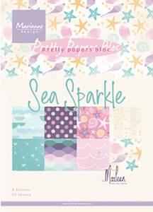 Bilde av Marianne Design Paper - 9163 - A5 - Sea sparkle