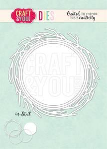 Bilde av Craft & You - Dies - CW117 - Frame Nest