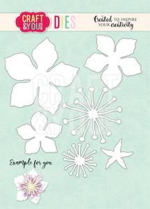 Bilde av Craft & You - Dies - CW123 - Cherry Blossom