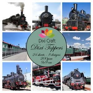 Bilde av Dixi Craft - Dixi toppers - ET0335 - Trains