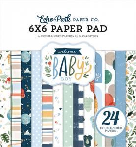 Bilde av Echo Park - Welcome Baby Boy - 6x6 Paper Pad