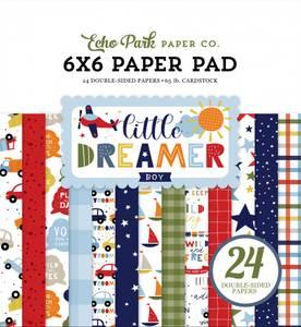 Bilde av Echo Park - Little Dreamer Boy - 6x6 Paper Pad