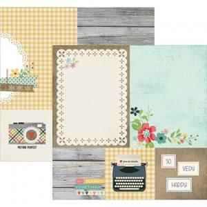 Bilde av Simple Stories - 3813 - HOMESPUN - ELEMENTS 4X4 & 6X8 CARDS